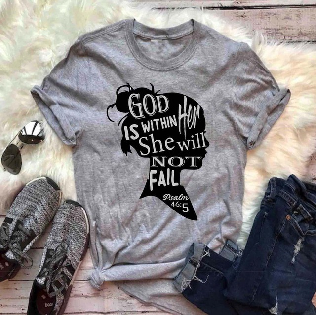 God Is Within Her She Will...