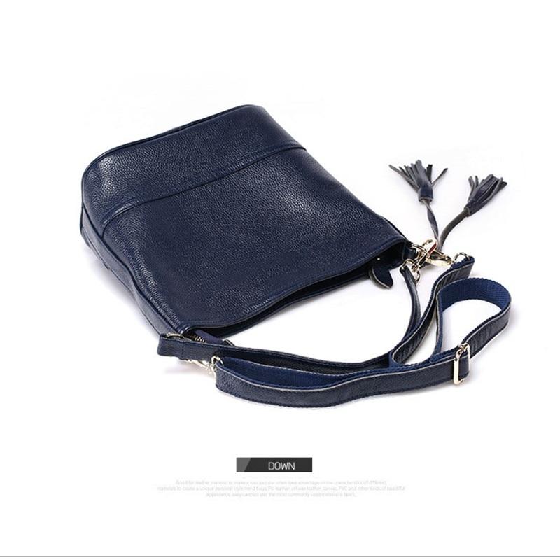 100% ehtne nahk Messenger kotid kuulus brändi naised õlakotid sidur - Käekotid - Foto 5