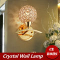 Modern Crystal Wall Lamp Sconce K9 G9 Bed room Stairs Aisle chandelier wall light fixture shade for Home Decor Luminaire FRHA/25