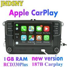 JNDSNY RCD330g CarPlay RCD330 Plus CarPlay MIB Autoradio Voor VW Golf 5 6 Jetta MK5 MK6 CC Tiguan Passat b6 B7 Polo 6RD035187B(China)