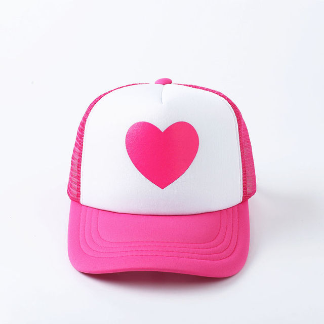 VORON fshion New Cute Pink Rose Gravity Falls Mabel Dipper Mesh Summer  Trucker Caps Young Pink 5d6964e82052