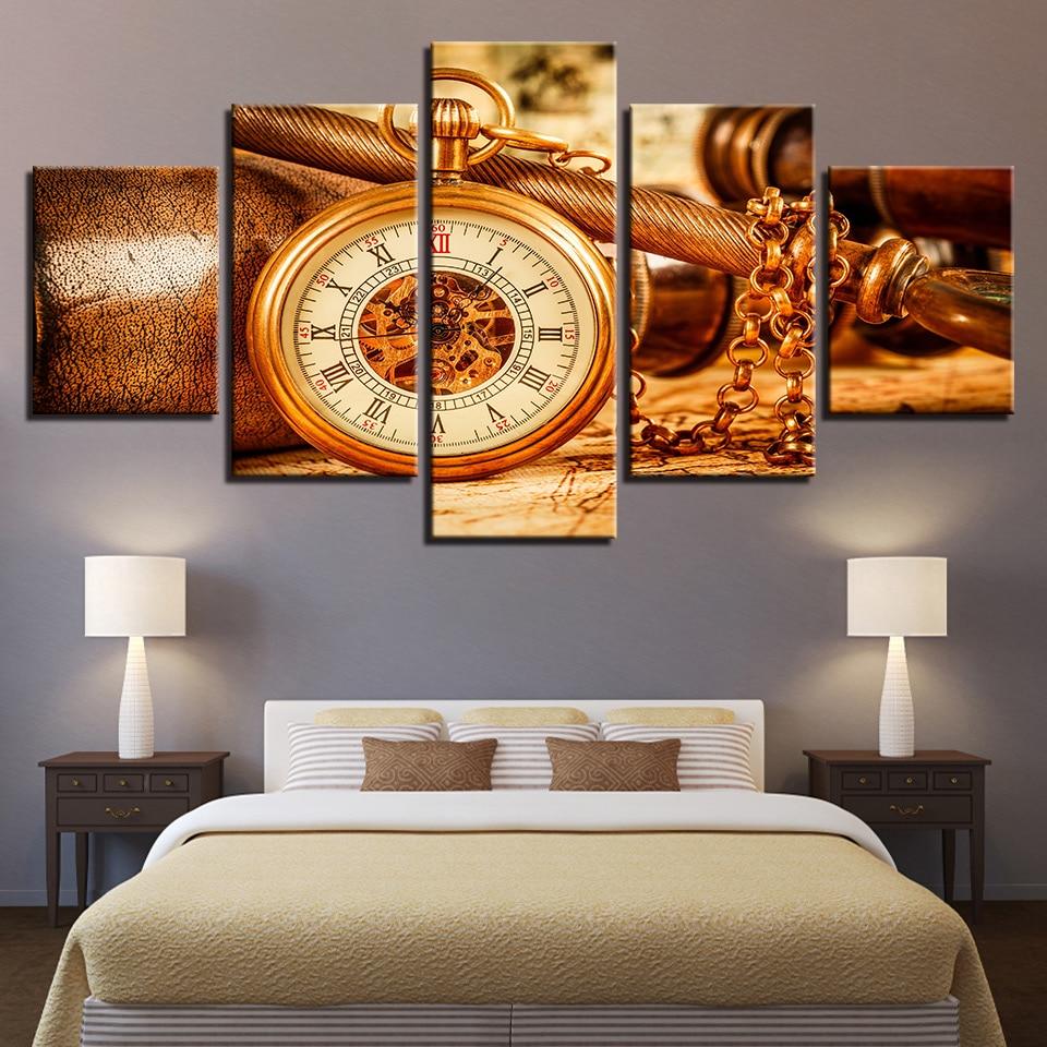 часы модульные настенные арт постеры большую часть его