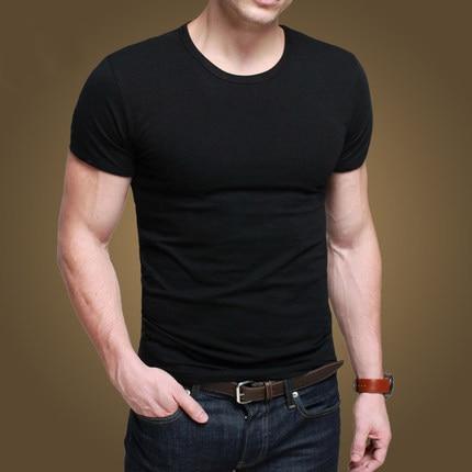 b2f25497202f 2015 Famous Brand Men tshirt High Quality O-Neck Mens t shirts Fashion tshirts  Casual t-shirt men slim fit wild t shirt ST-601