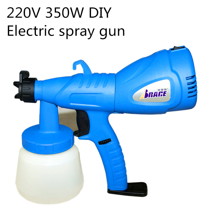 Free shipping , home DIY electric paint spray gun.800ML.350 W.220V Capacity  One-piece coating