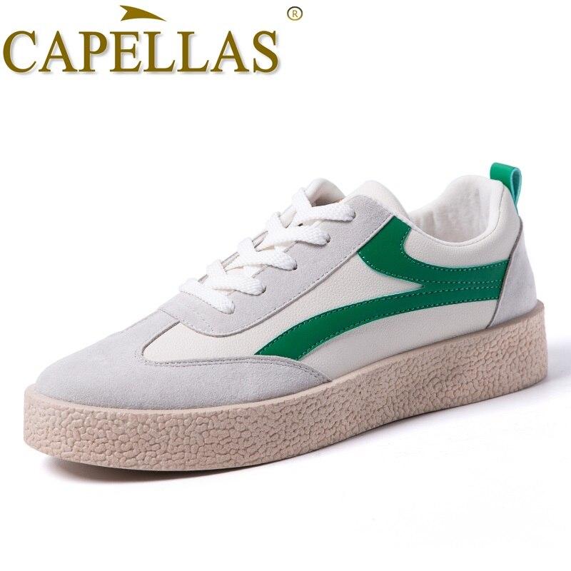 CAPELLAS Heren Vrijetijdsschoenen Hoge kwaliteit Microvezel Mode - Herenschoenen - Foto 2