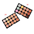 10*15cm Natural Professional Concealer Palettes 15 Colors makeup Foundation Facial Face Cream Cosmetic make up Beauty Tools