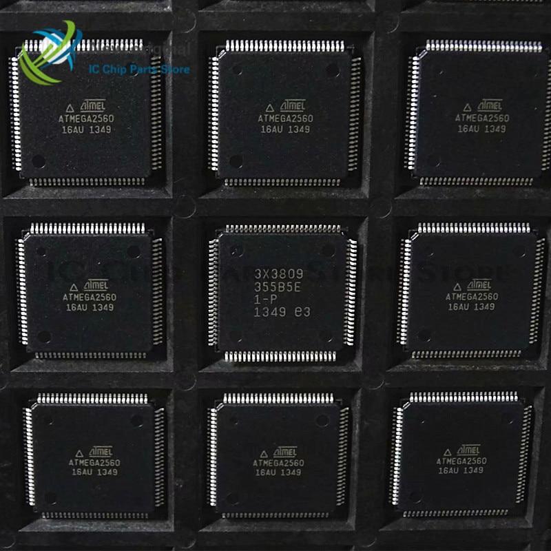 ATMEGA2560-16AU ATMEGA2560 TQFP100 Micro Controller 100% New Original Integrated IC Chip