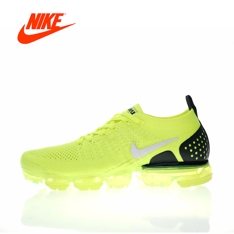 Original New Arrival Authentic Nike Air VaporMax Flyknit 2 0 W Women s Running Shoes Sport