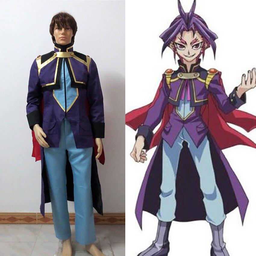 Yu-Gi-Oh! Yu Gi Oh ARC-V Joeri Yuri Cosplay Costume Tailor made