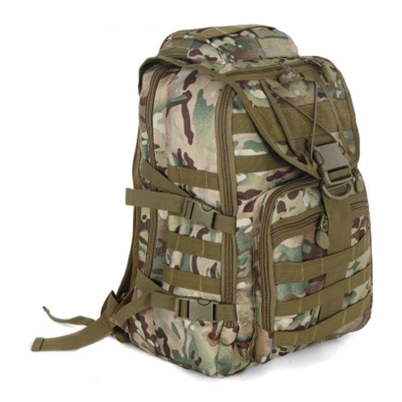 40L Outdoor Nylon Military Tactical Assault Backpack Camping Hiking Trekking Camouflage Bag Travel Backpack 10 color options military tactical nylon shotgun belt camouflage deep green