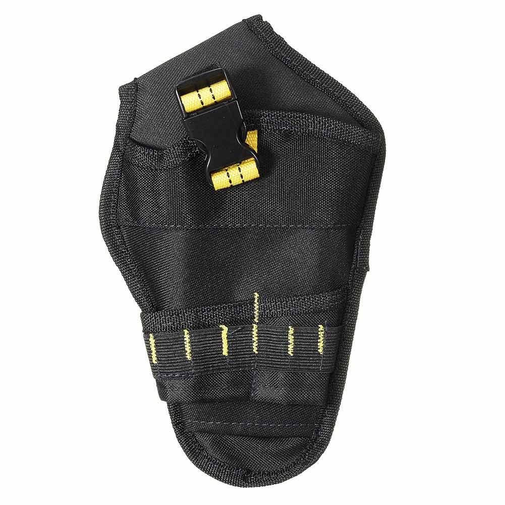 Heavy-duty Drill Holster Tool Belt Pouch Bit Holder Hanging Waist Bag Drill Tool Storage Bags MAL999