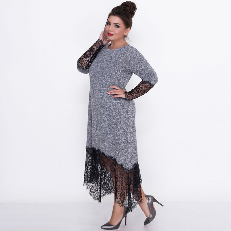 2XL-6XL Large <font><b>Size</b></font> <font><b>Sexy</b></font> <font><b>Dress</b></font> 2019 Spring Summer <font><b>Dress</b></font> <font><b>Big</b></font> <font><b>Size</b></font> Elegance Lace <font><b>Sexy</b></font> <font><b>Dress</b></font> Women <font><b>Dresses</b></font> Plus <font><b>Size</b></font> Women Clothing image