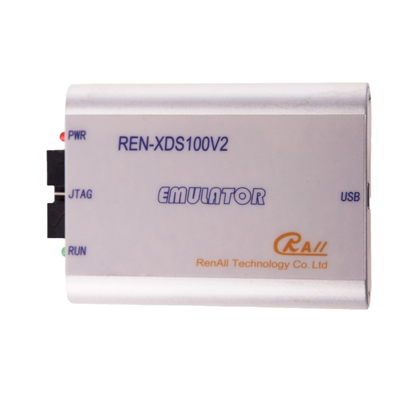 REN-XDS100V2 Emulator USB Downloader Is Suitable For TI Series Chip Supporting 64 Bit Operation System.