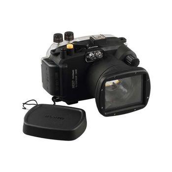 Meikon 40M impermeable funda carcasa subacuática para lente Sony NEX-7 18-55mm