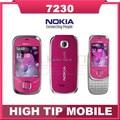 Мобильный телефон NOKIA 7230, разблокированный 3.2 mp камера 3 G отремонтированный