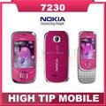 Teléfono móvil NOKIA 7230, desbloqueado 3.2MP cámara 3 G reformado