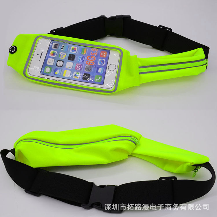 Waterproof Waist Pack For Men Women Fanny Pack Bum Bag Hip Money Belt Travel Mobile Phone Bag Bolsas