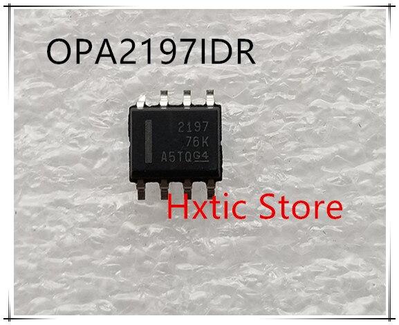 NEW 10PCS LOT OPA2197IDR OPA2197ID OPA2197 2197 SOP 8 IC
