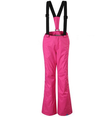 ФОТО 2015 girls boys rose red ski pants with braces kid's orange trousers for snowboarding skating autumn winter outdoor sports pants