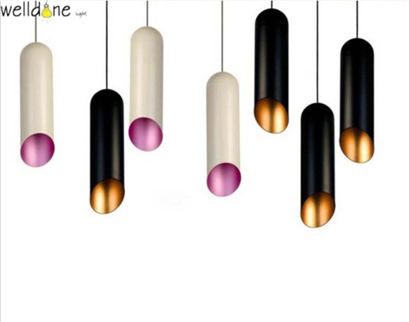 a soft shimmering glow whilst E27 Aluminum white black Sleek and nordic  pipe Pendant Light for bedroom Bar Living Room e cap aluminum 16v 22 2200uf electrolytic capacitors pack for diy project white 9 x 10 pcs