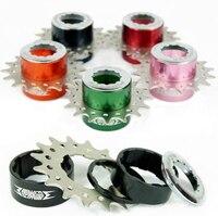 Fire eye bike bicycle 9 speeds turn 1 single speed freewheel Cassette adapter adaptor Anodized color 18T/16T/14T/12T