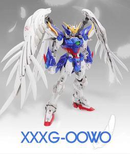 Image 3 - MX Gundam MG 1/100 aile fixe zéro combinaison Mobile assembler des maquettes figurines jouets pour enfants