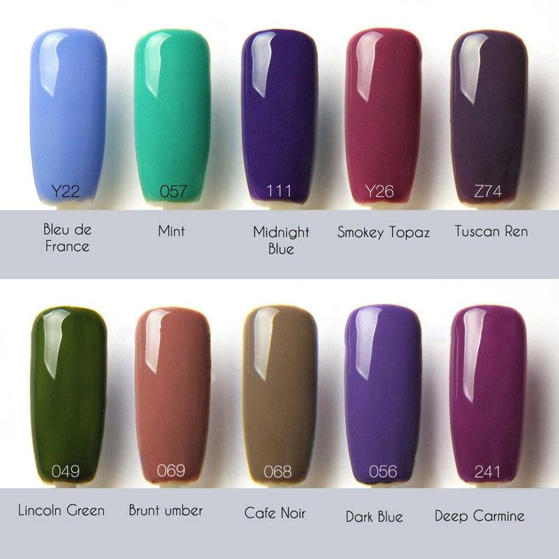 Soak Off UV Lamp Gel Nail Polish Gel Nails Lacquers Gel Colors UV ...