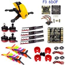 FPV Robocat 4 Axis Carbon Fiber Quadcopter Frame F3 Flight Controller Board 6DOF 10DOF Deluxe RS2205