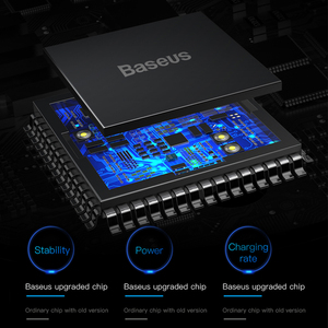 Image 4 - Baseus Qi Wireless Car ChargerสำหรับiPhone 11 Pro Max X Fastรถไร้สายชาร์จสำหรับXiaomi Mi 9ผสม3 Samsung S10 S9