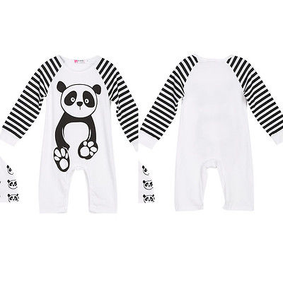 Fashion Newborn Infant Baby Boy Girl Romper Jumpsuit Winter Outfits Cute Cartoon Panda Rompers Clothes newborn baby rompers baby clothing 100% cotton infant jumpsuit ropa bebe long sleeve girl boys rompers costumes baby romper