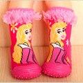 Calcetines de bebé Niño Niña Niño Calcetines de Los Niños de Fondos Blandos Niños Botas de Suelas De Goma Antideslizantes Calcetines Del Piso Recién Nacido Enfant zapatos FWS932