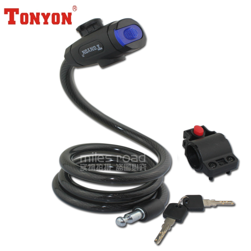 Arrival Limited Cable Lock Motorcycle Lock Tonyon Bicycle Lock ...
