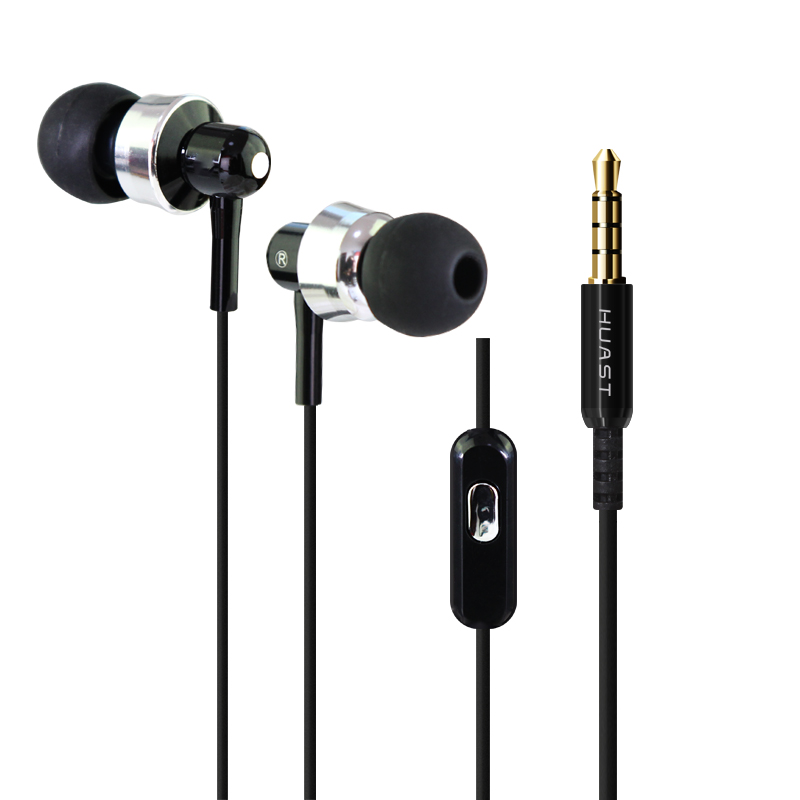 Abay New Sports Hst-52 In-ear Headphones 3.5mm Cable Headset Headset With Mp3/mp4/pc/radio/xiao Mi/hua Wei/i Phone Headset 2019 Latest Style Online Sale 50% Phone Earphones & Headphones