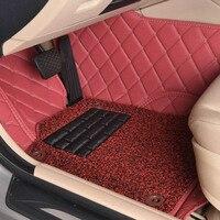 Custom Car Floor Mats For Cadillac ATS CTS XTS SRX SLS Escalade 3D Car Styling All