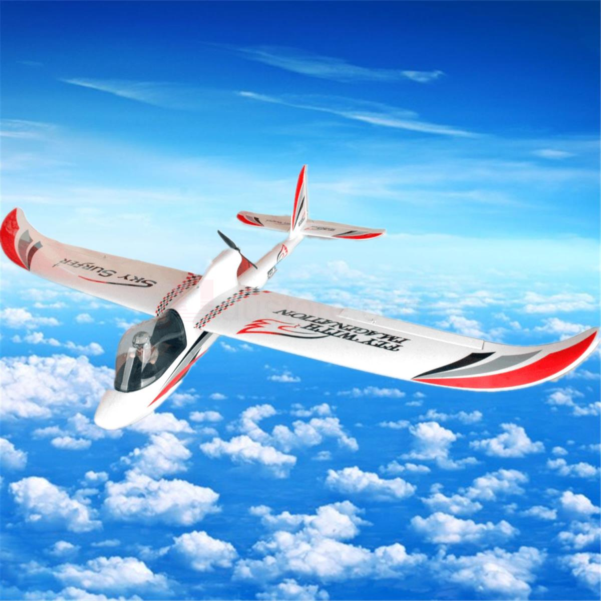 Skysurfer 1500mm wingspan glider plane EPO Kit PNP ARF RC airplane for FPV image