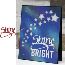 Shine Metal Cutting Dies for Scrapbooking and Cards Making Paper Craft New 2019