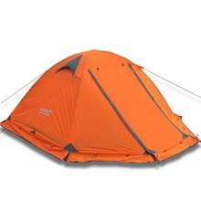 Flytop палатка для кемпинга на открытом воздухе 2 человека или 3perons двухслойный алюминиевый полюс анти снег уличная семейная палатка со снежной юбкой