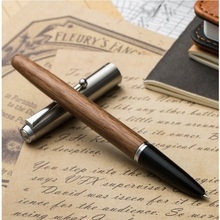Vintage Wood Fountain pen Metal cap 0.38mm extra fine ink pens for writing calligraphy Stationery Office school supplies F994 недорого