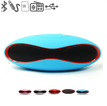 X6 Mini Wireless Bluetooth Speakers Portable Handsfree Speaker Built in MIC Audio Receiver boom box Support TF Card USB havit® hv m6 wireless bluetooth 4 0 nfc sports speaker with built in microphone support tf card 3 5mm audio external connect up to 6 hours music playing easter day special