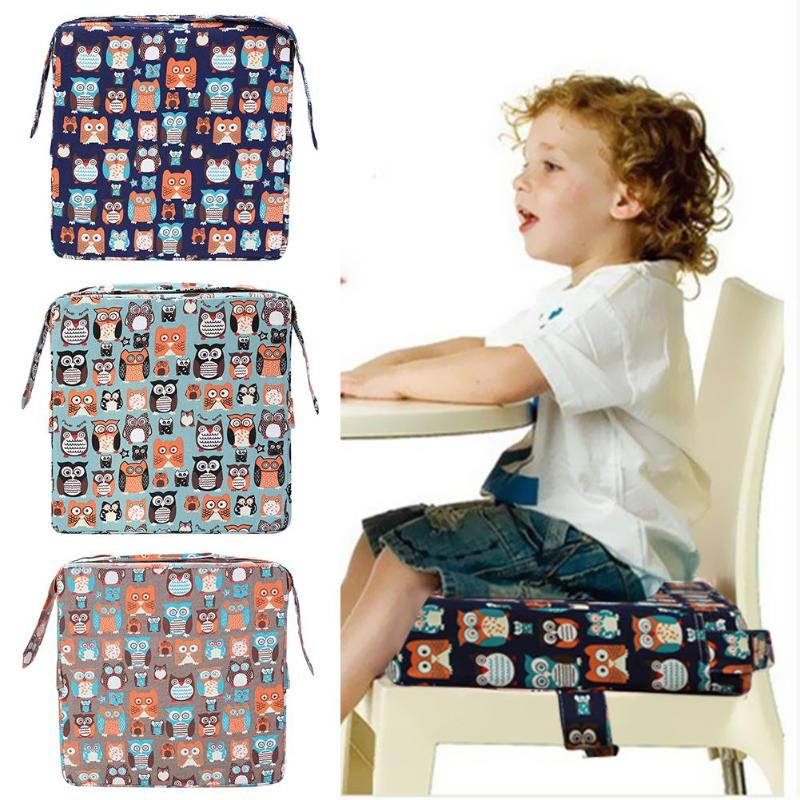 Kids Cushions Modern Removable Linen Cushion Baby Increased Thick Mat Table Chair Cushion(1pc)