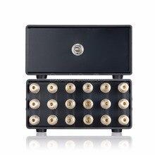 Nobsound Mini 2.1 Canal 2 (1) EM 1 (2)  OUT Speaker Amplificador de Áudio Splitter Switcher Selector