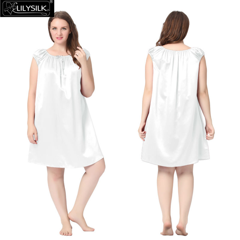 1000-white-22-momme-mid-length-silk-nightgown-with-tied-bust-plus-size-01