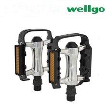 Wellgo 9/16 M248DU металлический сплав горный велосипед MTB BMX Плоские Педали
