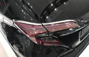 JIOYNG ABS Chrome tylne światło przeciwmgielne światła pokrywa tapicerka dla TOYOTA C-HR CHR 2017 2018 2019 darmowa wysyłka