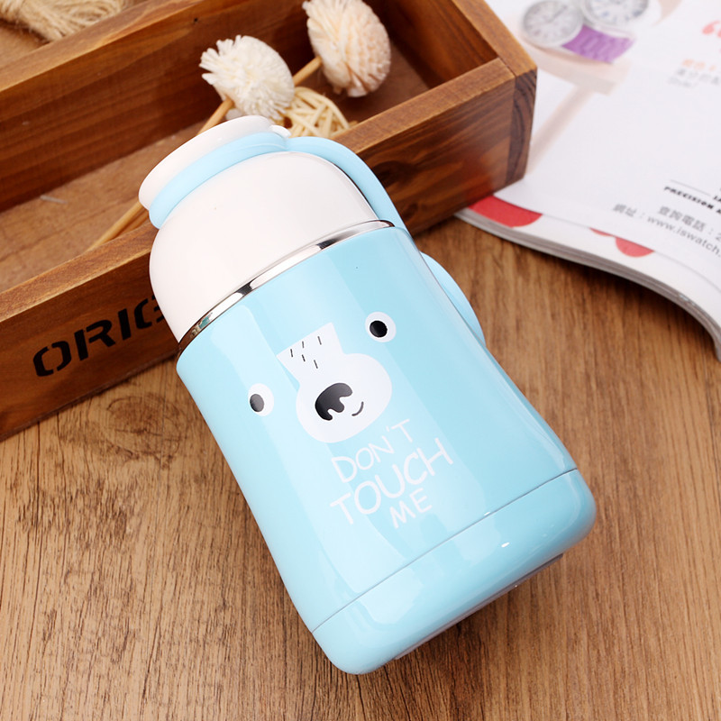 1PC Vacuum Flask Cute Thermal Cup Coffee Mugs Thermos Bottles Water Bottle Cup Travel Mugs Water Cups Thermo Cup NQ 001 in Vacuum Flasks Thermoses from Home Garden