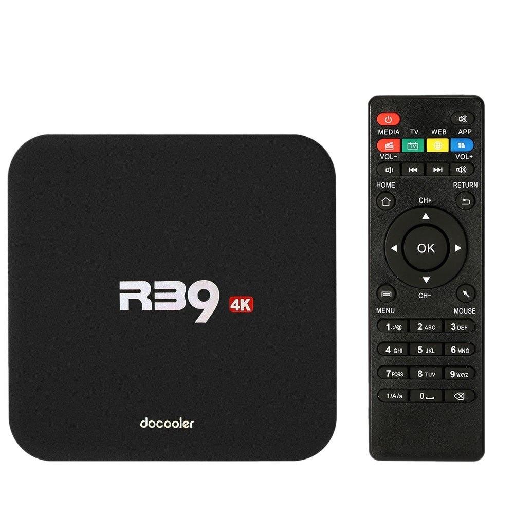 Android 8.1 Smart TV Box MI WiFi R39 RJ45 Set Top Box Receiver 4K TV SD Card RK3229 Quad Core 32bit 2GB DDR3 32GB EMMC