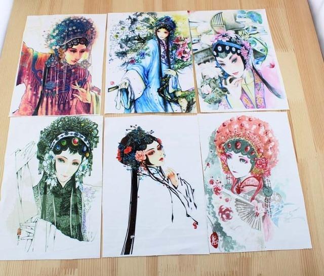 china Peking Opera bag diy felt cotton fabric cloth dolls for sewing ...