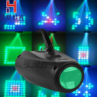 Professional LED small Airship Magic Colorful Pattern LED Stage Light 64 RGBW LED Moonflower Lighting for DJ Party KTV lights