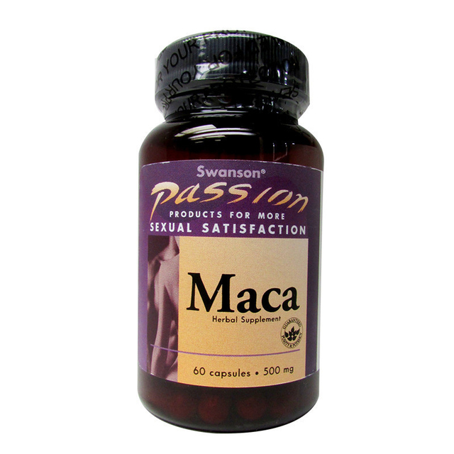 Paixão de Maca 500 mg 60 Cápsulas frete grátis
