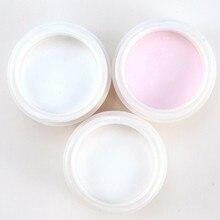 1 pcs Acrylic Powder Nail Art Tools Acrylic Nail Kit Acrylic Nail Powder Acrylic Liquid Pink/White/Clear Color Options